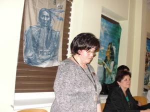 Inicjatorka i organizatrorka konkursu - pani Anna Kielan