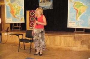 Prof.Ewa Nowicka-Rusek -wykład podczas sesji w 2008 r.